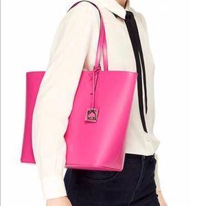 New Kate Spade hot pink tote bag.